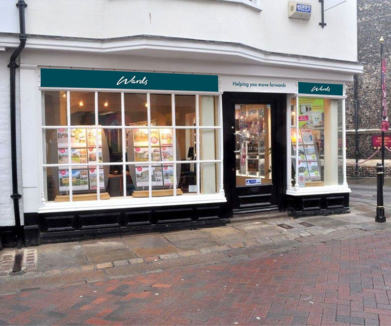 Our branch in Canterbury, Kent