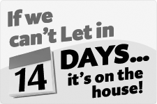 if we cant let in 14 days its on the house