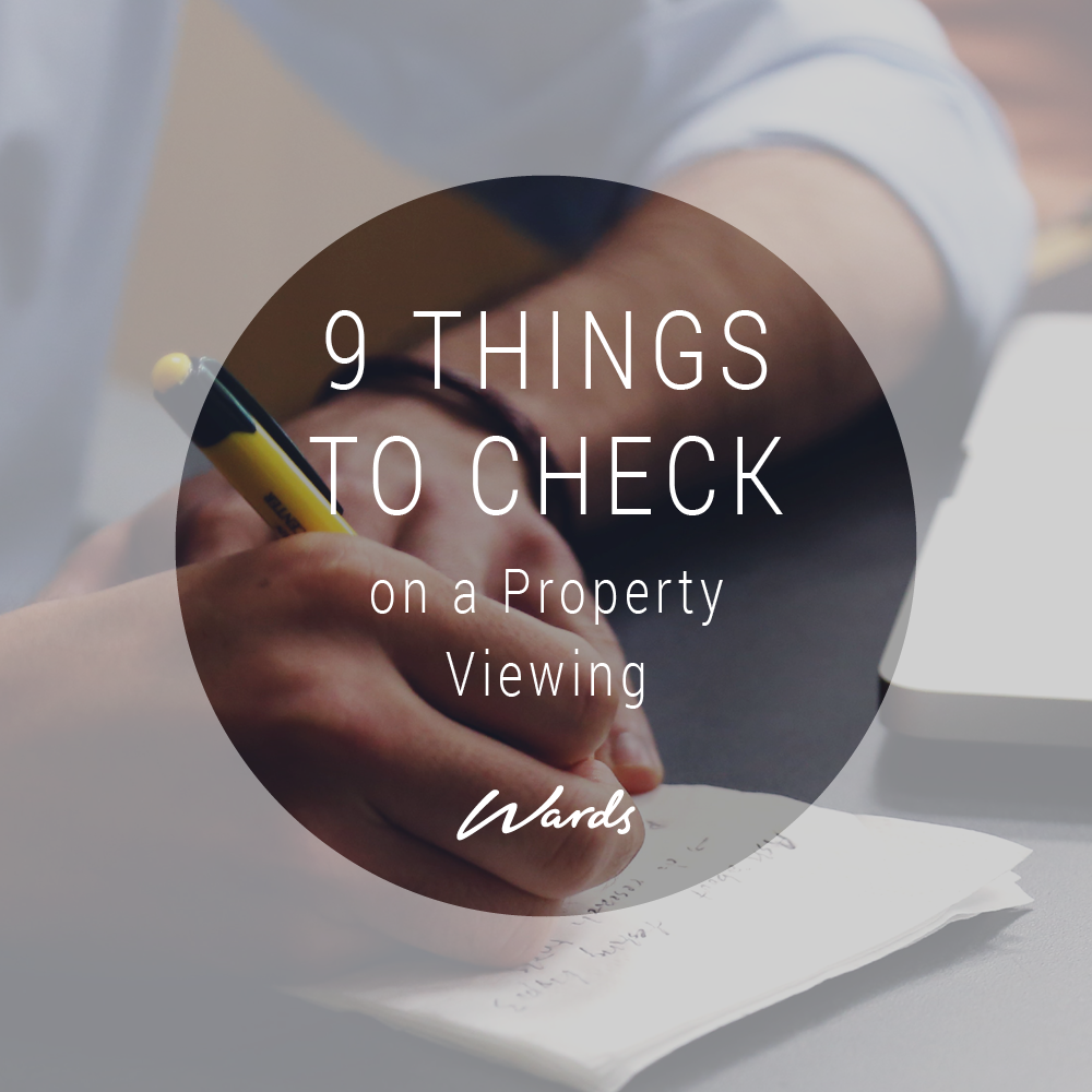 9 Things to Check on a Property Viewing