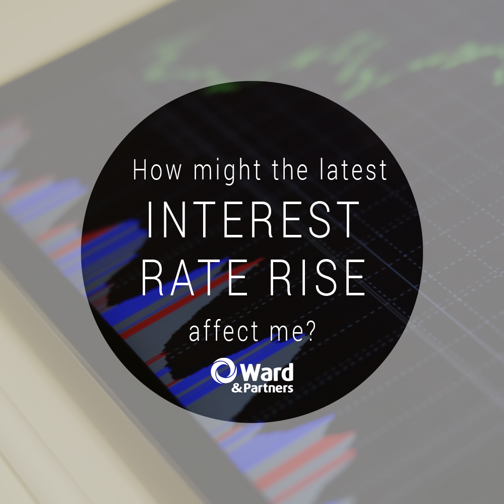 Blog Image Design How Might The Latest Interest Rate Rise Affect Me WP