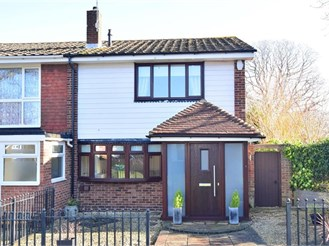 2 bedroom end of terrace house in Parkwood, Gillingham