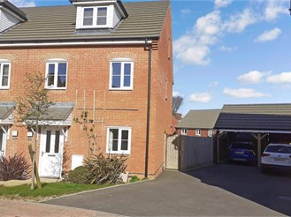 3 bedroom town house in Whitfield, Dover