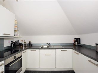 1 bedroom top floor apartment in Holborough Lakes