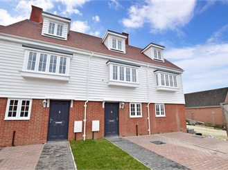 3 bedroom end of terrace house in Brenzett, Romney Marsh