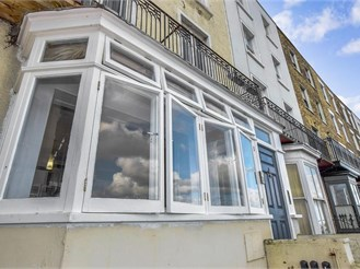 2 bed ground floor converted flat in Margate