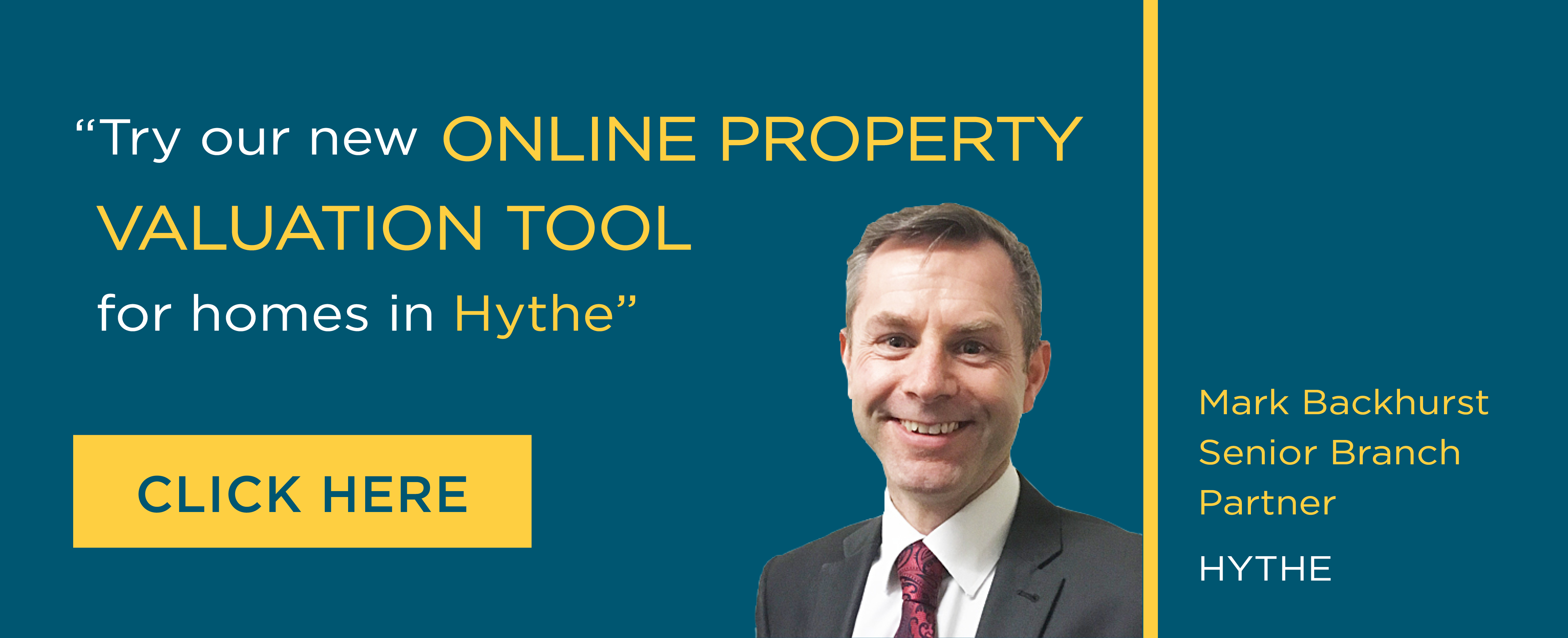 Online Valuation Tool website banner Hythe