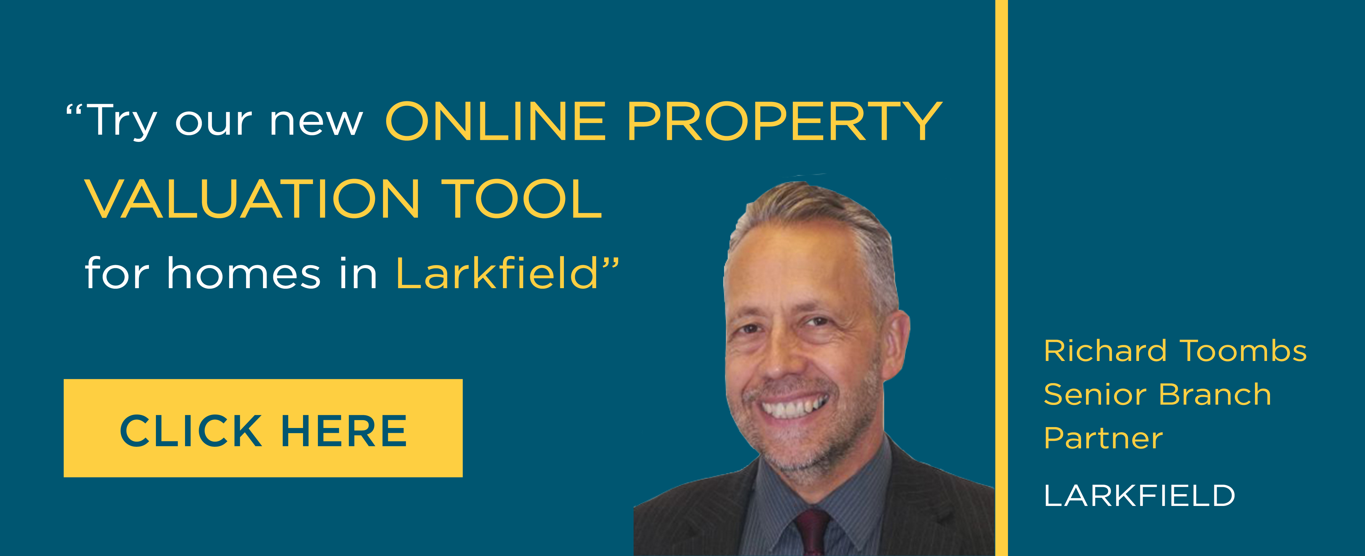 Online Valuation Tool website banner Larkfield