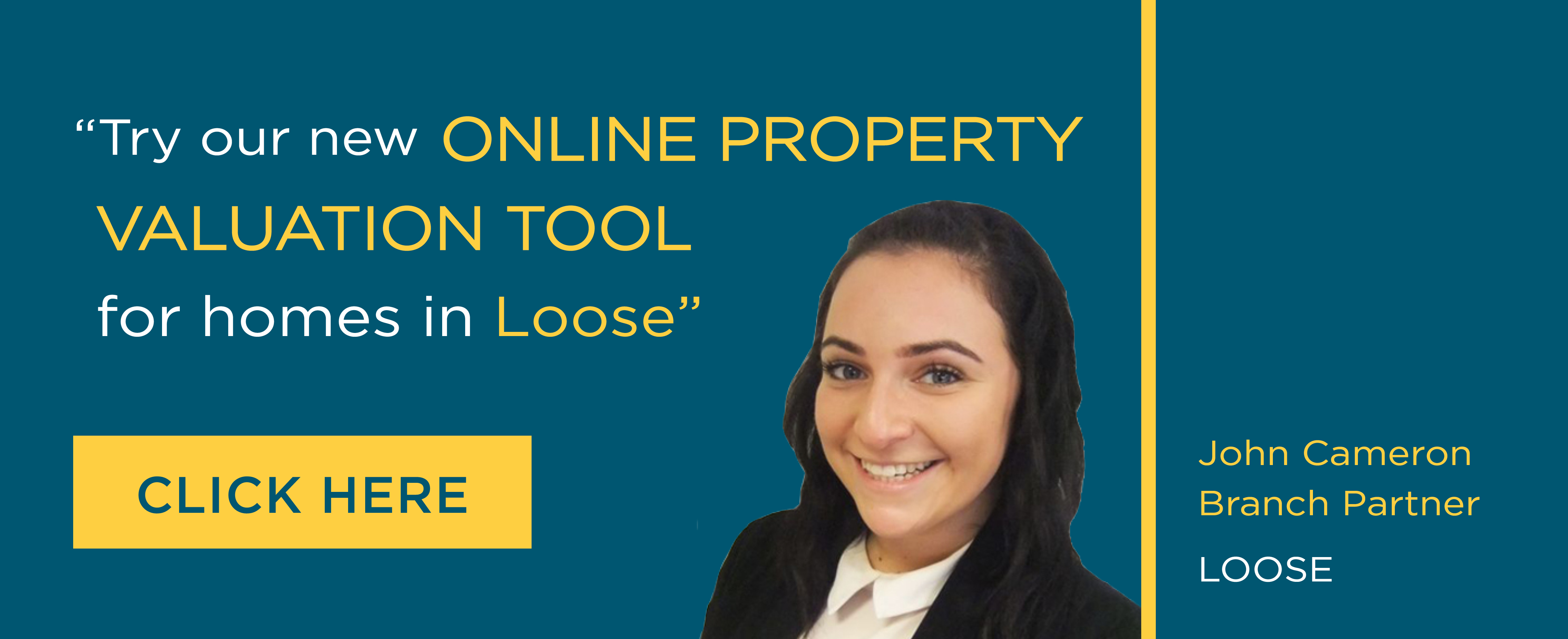Online Valuation Tool website banner Loose