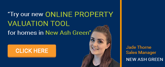 Online Valuation Tool website banner New Ash Green