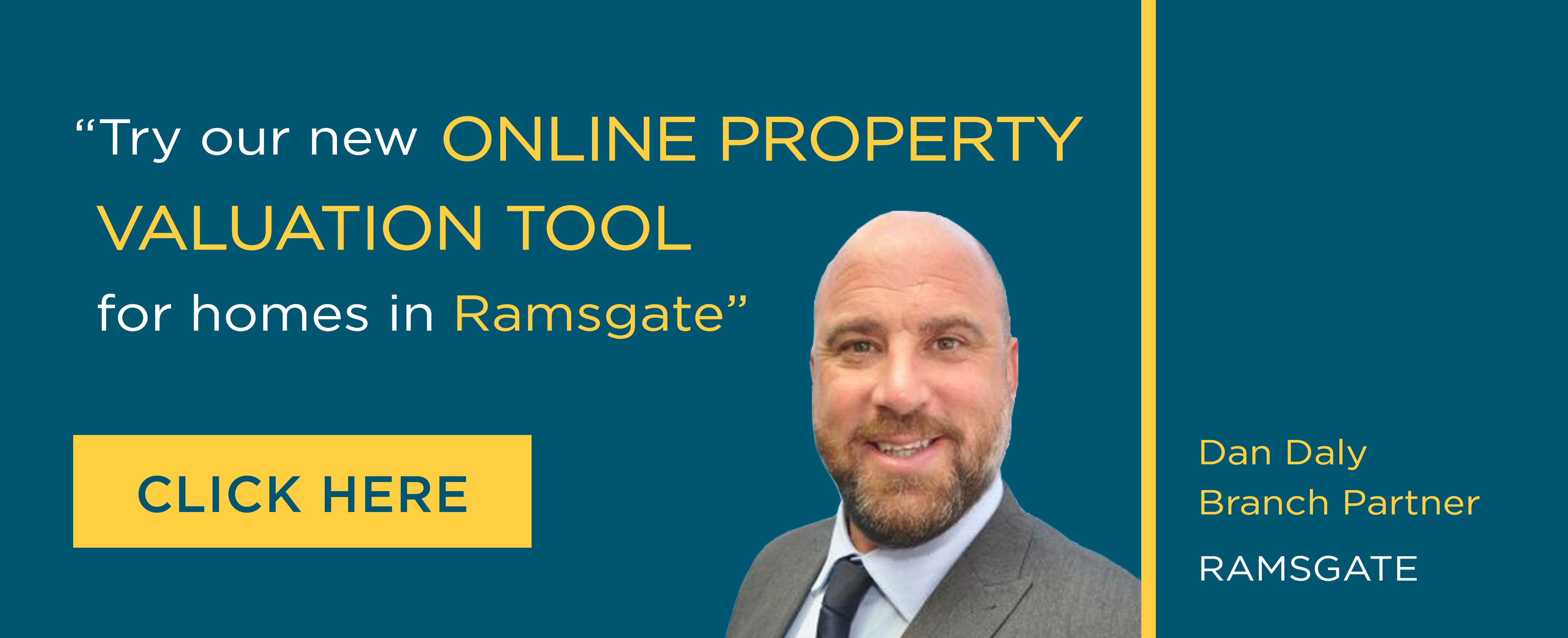 Online Valuation Tool website banner Ramsgate