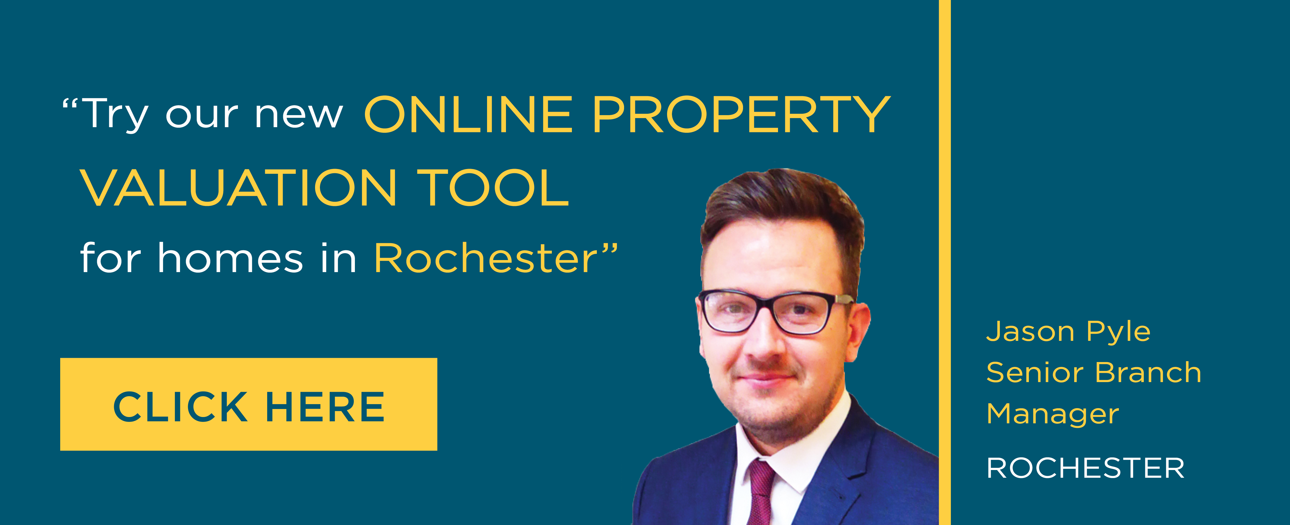 Online Valuation Tool website banner Rochester