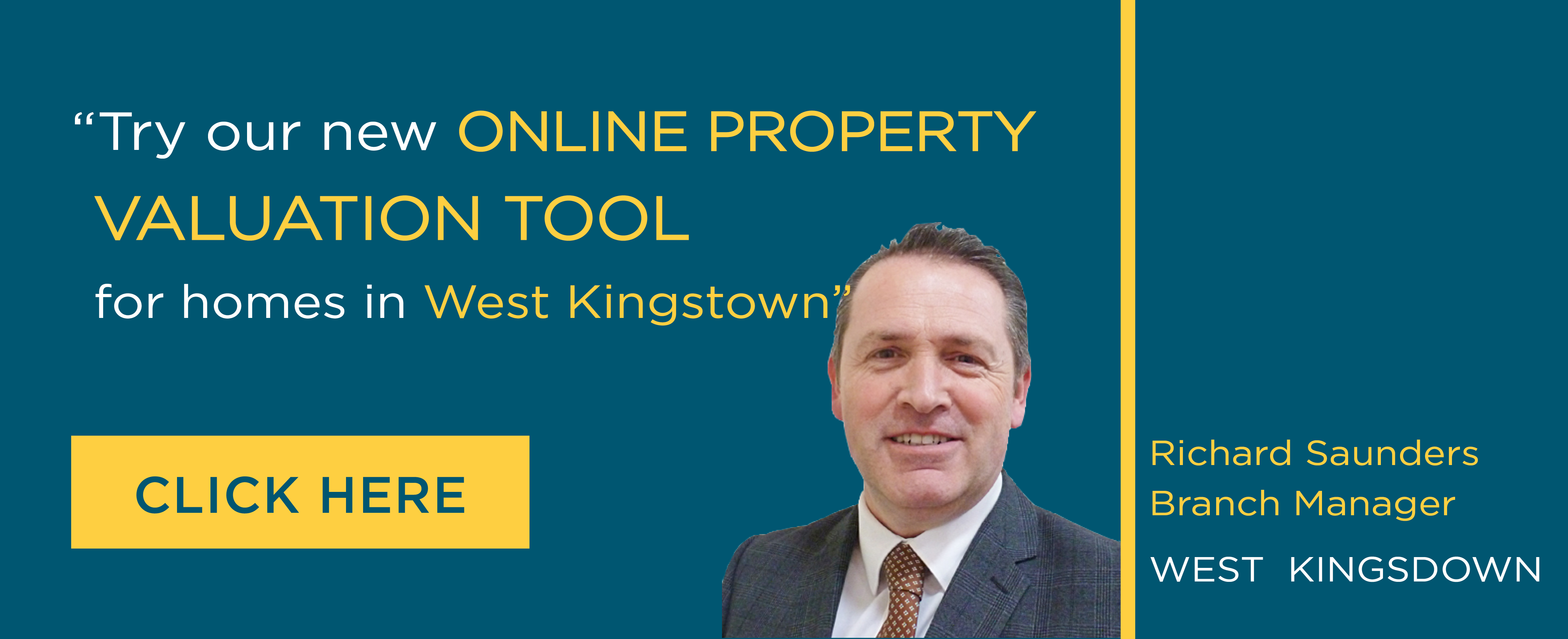 Online Valuation Tool website banner West Kingsdown