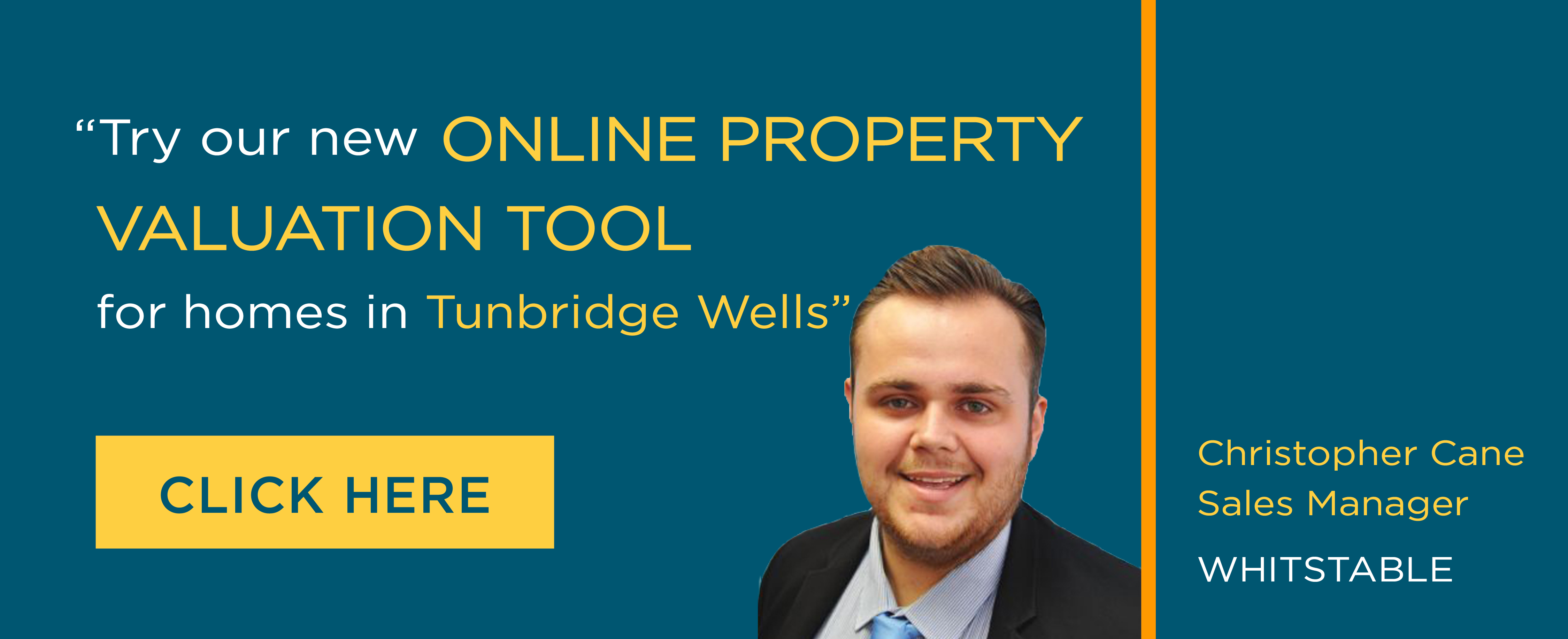 Online Valuation Tool website banner Whistable