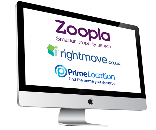 We advertise on Rightmove, Zoopla and more