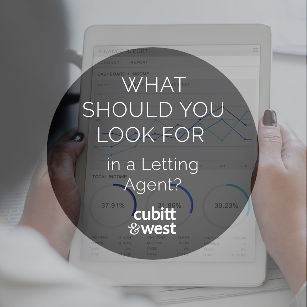 What should you look for in a letting agent?